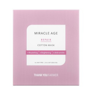 THANK YOU FARMER - Miracle Age Repair Cotton Mask