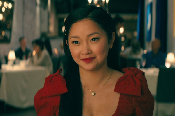 Lara Jean's Matte Red Lip Makeup Look in Netflix To All the Boys, Lana Condor
