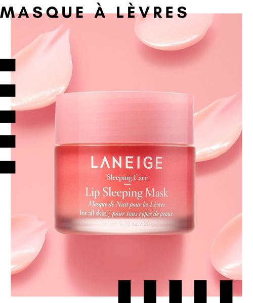 Les 12 meilleurs succès beauté de Stylevana LANEIGE - Masque de couchage lèvres