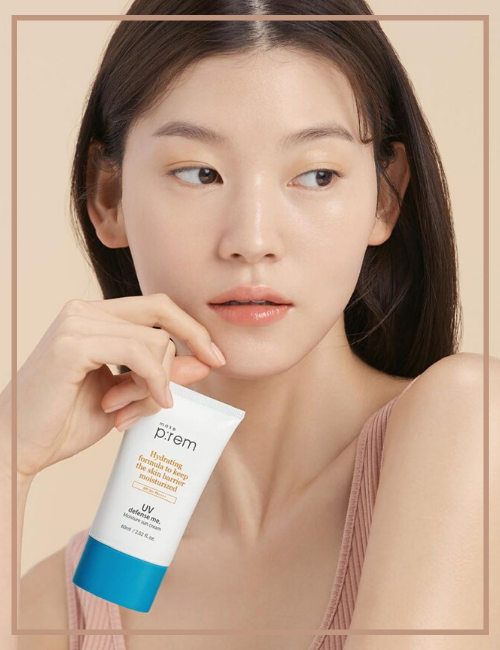 Best Sunscreen for Sensitive Skin Type make p:rem - UV Defense Me. Moisture Sun Cream (SPF50+ PA++++)