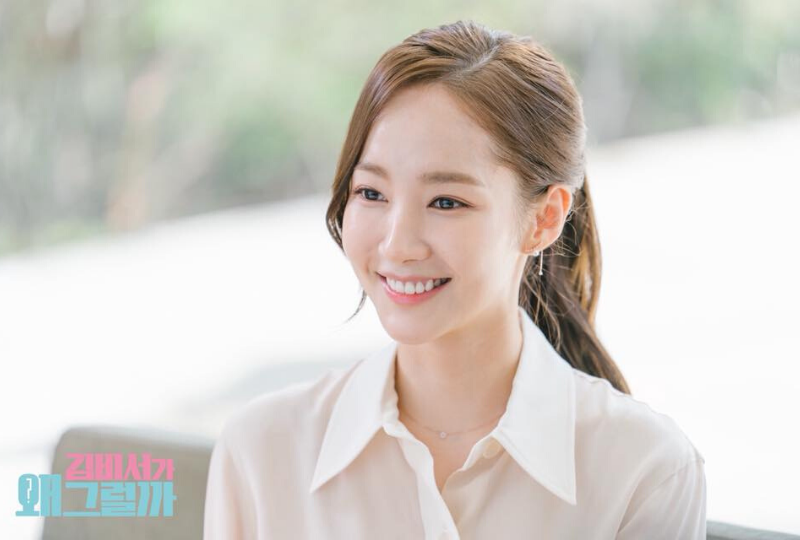 Dewy Skin Look Inspired by What's Wrong with Secretary Kim Park Min-Young Mask Prep