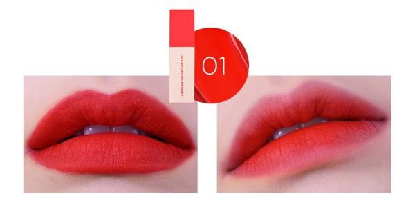 Stylevana - Vana Blog - heimish Varnish Velvet Lip Tint - Cherry Tomato Red