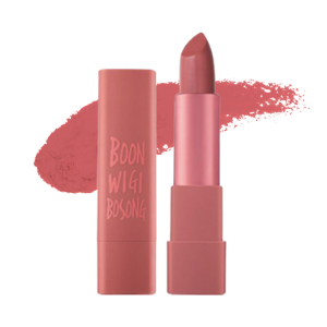 MACQUEEN - Air Kiss Lipstick - 6G - #5 Boon Wi Gi Bosong