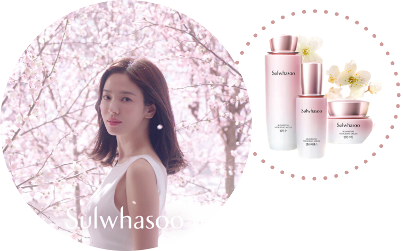 Stylevana - Vana Blog - Song Hye-kyo x Bloomstay Vitalizing Collection